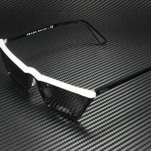 Prada Women's Black Grey and White Sunglasses!
